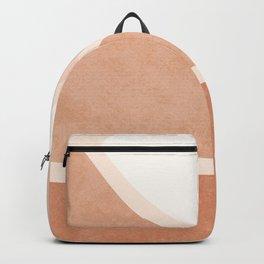 Warm Neutral mountain sun Backpack