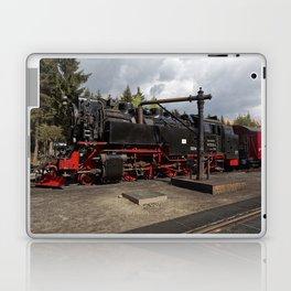 Steam train for water refueling Laptop & iPad Skin