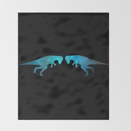 Pachycephalosaurus Throw Blanket