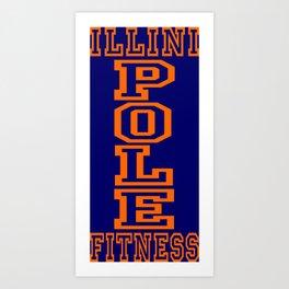 IPF Block I Art Print