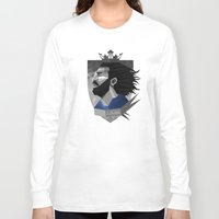 pirlo Long Sleeve T-shirts featuring Pirlo Design by Robin Gundersen