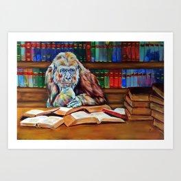 Ishmael- homage to Daniel Quinn Art Print