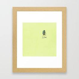 Backpacking: Solitude Framed Art Print