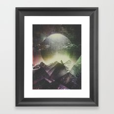 Always dream big Framed Art Print