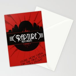 Bioshock Rapture Records Stationery Cards