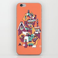 cabin iPhone & iPod Skins featuring Farrier's Cabin by C86 | Matt Lyon