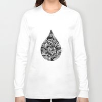 abyss Long Sleeve T-shirts featuring ABYSS by FilippoCardu