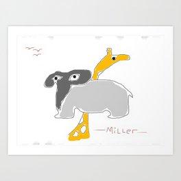 3 Birds Art Print