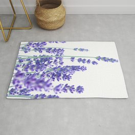 Fresh Lavender #1 #decor #art #society6 Rug