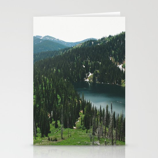 SIAMESE LAKES MONTANA Stationery Cards