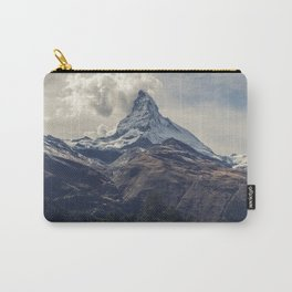 Distant Mountain Peak Carry-All Pouch