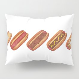 Evolution of A Hotdog Pillow Sham