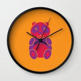 Panda Gummy Wall Clock