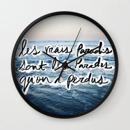 Paradis Wall Clock