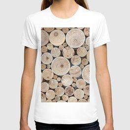 Wood circles T-shirt