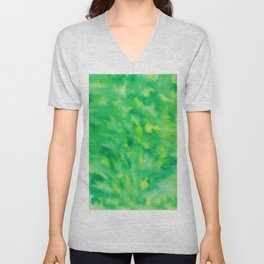 Abstract No. 196 Unisex V-Neck