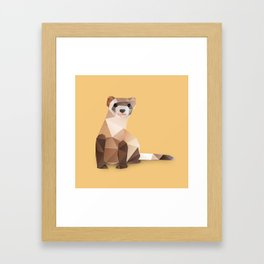Ferret. Framed Art Print