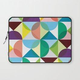 Geometric Pattern #102 (colourful pastels) Laptop Sleeve