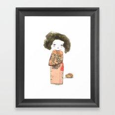 Oriental II Framed Art Print