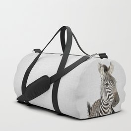 Zebra 2 - Colorful Duffle Bag