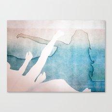 Falling 1 Canvas Print