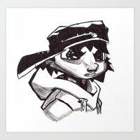Brothers of Hip Hop 2 Art Print