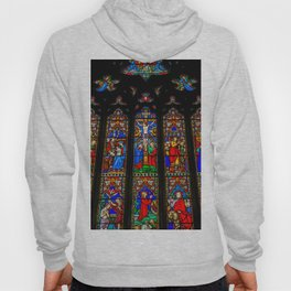 INRI Stained Glass Hoody