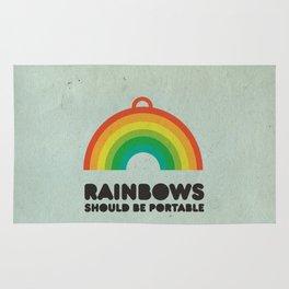 Rainbows should be portable. Rug