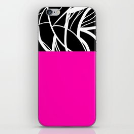 Pink Zebra iPhone Skin