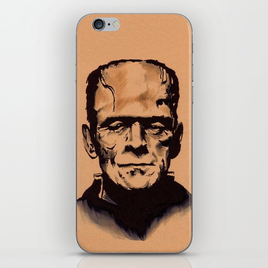 The Monster iPhone & iPod Skin