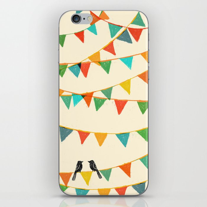 Carnival is coming to town iPhone Skin