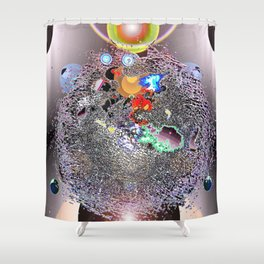 Where Shall We Go Today? Shower Curtain