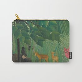 "Henri Rousseau ""The Waterfall"", 1910 Carry-All Pouch"