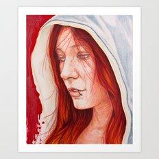 Katy Art Print