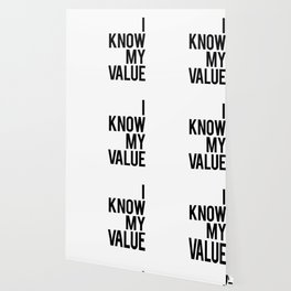 I know my value Wallpaper
