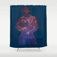 starlord Shower Curtains featuring Starlord, Legendary Outlaw? by ItsSabYo