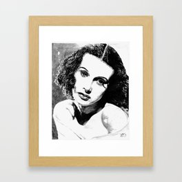 Heddy Framed Art Print