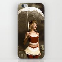 scandal iPhone & iPod Skins featuring The victorian scandal by Britta Glodde
