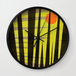Bright Nite Wall Clock