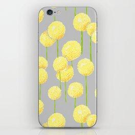 Allium - Yellow iPhone Skin