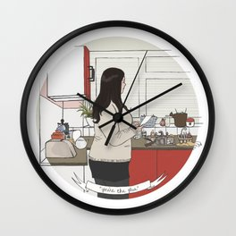 you're the glue Wall Clock