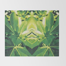 Botanical Throw Blanket