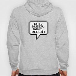Eat Sleep Game Repeat Hoody