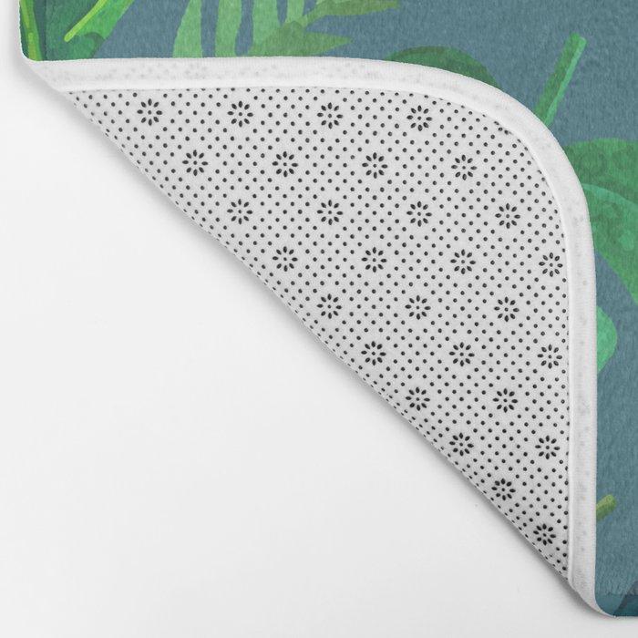 Tropical Life | #society6 #decor #buyart #pattern Bath Mat