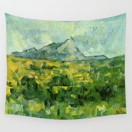 "Paul Cezanne ""Mont Sainte-Victoire"", c.1906 Wall Tapestry"