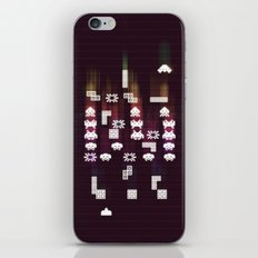 War Of The 8-Bit Worlds iPhone & iPod Skin