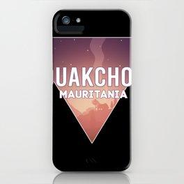 mauritania Capital City Flag iPhone Case
