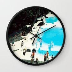 swimming pool 3 Wall Clock