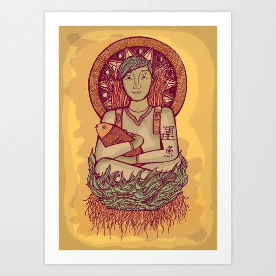 Ebisu Art Print