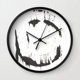 Ink Circle (8.24) Wall Clock